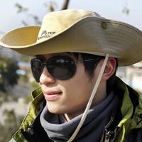 MOUNTAINTRIP BRAND Cowboy hats , sun hats, outdoor 100% cotton large brimmed cap MC-248