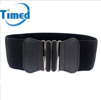New arrival simple women's elastic waist belt with the trend of fashion all-match cummerbund decoration sweater belt 2824