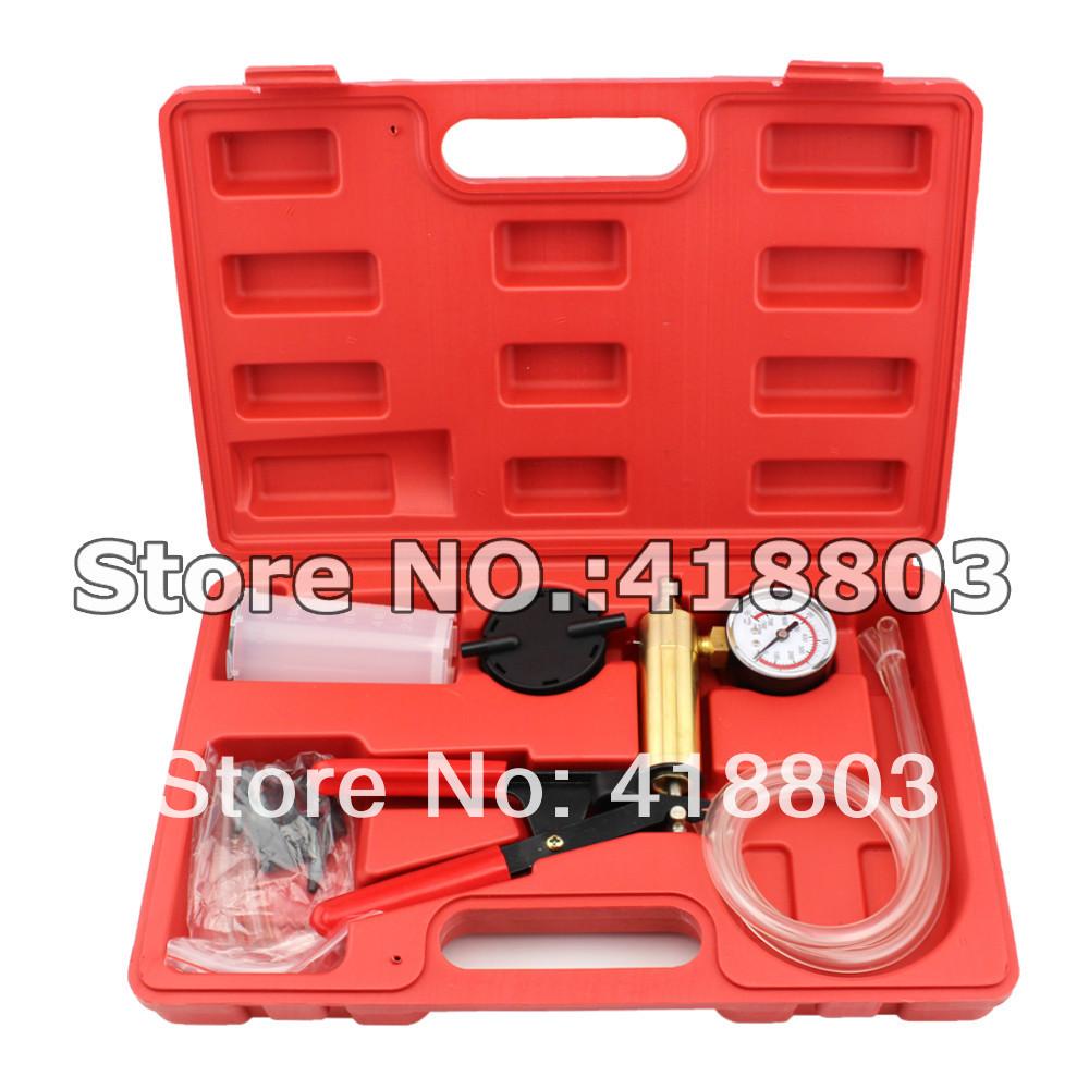Brake Bleeder &Hand Held Vacuum Pump Kits Tester 2 in 1(China (Mainland))