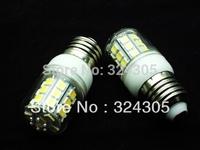Wholesale E27 5W 30 SMD 5050 LED  High Power Light White/ Warm white bedroom light spot lamp Allimium body Long life 5pcs/Lot
