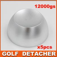 golf detacher Security tag remover, detacher golf, eas hard tag detacher magnetic intensity 12, 000gs 5pcs/lot