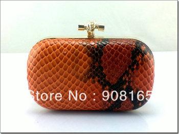 2013 fashion handbag,handbag wholesale, 3 colors snake striped brand dress clutch bags women free shipping