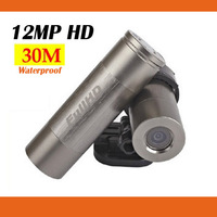 12.0 MP Sports HD1080P DV 30m Waterproof helmet Camera DVR SJ75 with Metal Shell and 170 degree wide-angle Free shipping