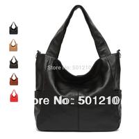Hot selling Real Genuine Leather Lady Woman Handbag Tote/Shoulder Messenger bag, Free shipping