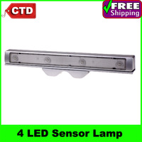 Shaking Sensor 4 LED Light Motion Detector Drawer Saving Energy Light Lamp