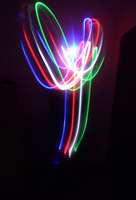 Free Shipping 4 Colors LED Finger Light Ring Party Fun Gadget Laser Beams Torch Red/Blue/Green/White