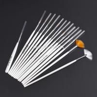 New arrival High Quality 15pcs/set professinal Nail Art Brush Set Design Painting Pen,Perfect for natural/