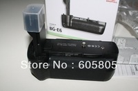 Free shipping 1pcs BG-E6 Battery Pack Grip For Canon BGE6 EOS 5D Mark II LP-E6