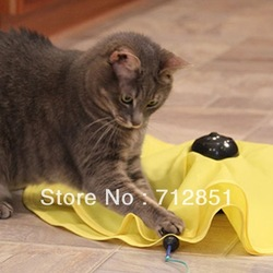 As Seen on TV undercover mouse / Cat`s Meow electronic cat toy (New pet toy)(China (Mainland))
