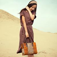 Free Shipping Super Design Head Leather Women Bags Retro Fashion Handbags