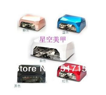 36W CCFL LED nail lamp  diamond long life led nail lamp drywe uv nail lamp with CE certificate