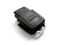 Blank key Remote key FOB for VW Passat Polo Golf SEAT Lbiza Leon SKODA Octavia Fabia 3 Buttons 1pcs
