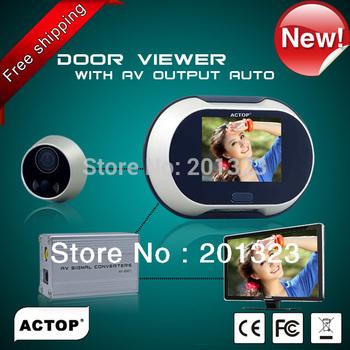 3.5inch screen digital door peephole camera digital door viewer doorbell