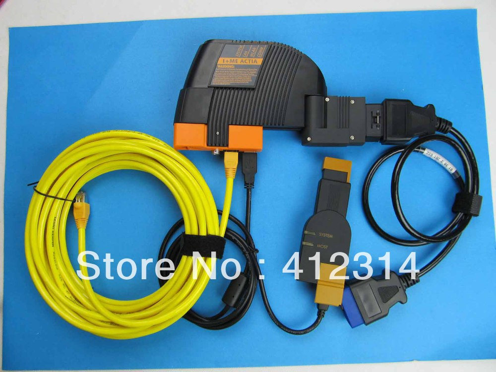 Wholesale 2013 for BMW ICOM BM-W ISIS ISID A+B+C without software fast free DHL(China (Mainland))