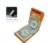 2013 male women's credit  wallet clip money clip card holder wallet ultra-thin brief