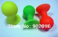 10pcs/lot small colorful silicone Stand for iPone/IPAD/HTC Mobiel Phone holder Silicon holder ( free shipping )