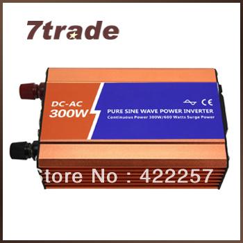 300W pure sine wave inverter off grid 48vdc to 110vac B48P300-1(China (Mainland))