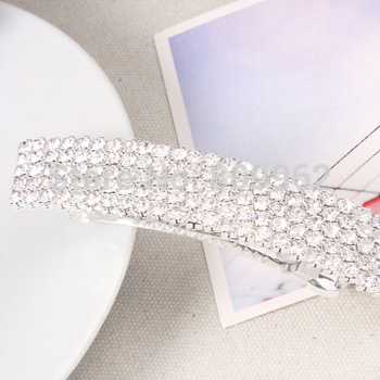 hot sale free shipping multi-rows rhinestone/crystal fashion hair pin adornment  for the hair/ wedding hair accessories bridal