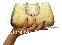 2014 New Ladies' Fashion Shine Evening Bags,PU Leather Clutch Bag,Foil a Noble Temperament,Free Shipping Wholesale Handbag GB208