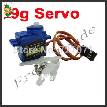 Free Shipping 10X SG90 9g Mini Micro Servo for RC for RC 250 450 Helicopter Airplane Car