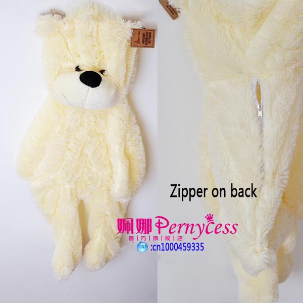 Hot 2015 Upgrade life size unstuffed skins empty giant plush toys coat pillow Stuffed TV&Movie character(China (Mainland))