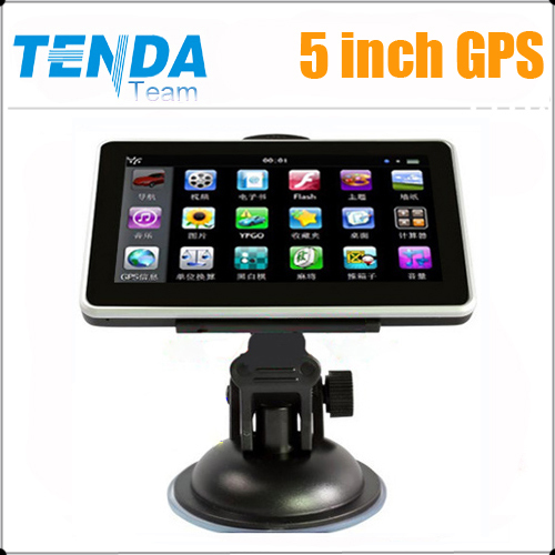 5 inch Car gps Navigation,MTK,500MHz,Wince6.0,FM,free map,hot selling,Car gps Navigation(China (Mainland))