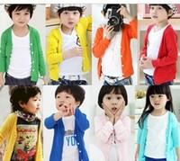 2013 spring new children's clothing children Rashguards boys and girls long-sleeved cardigan shirt