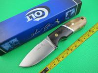 T 3MM Blade Wood Handle Full Tang Hunting Knife VTH05