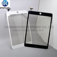 Wolesales for ipad mini digitizer touch screen black&white,100% quantity guarantte!