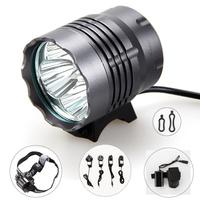 Free Shipping 4x CREE XM-L T6 LED 30W 7000 Lumen Cycling Bike Bicycle Front Light Lamp HeadLamp HeadLight 6400mAh 8.4v Battery