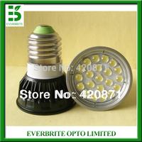 Free shipping  10pcs lot SMD5050 led par16 E27 5w ,360lm LED Spot light AC85-265V, led spot hot selling Warm white cool white