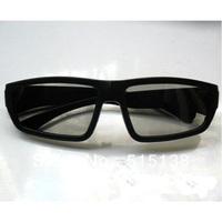 High Quality Circular Polarized 3D Glasses Passive 3d eyewear for 3D LG TV/3D Cinema Bulk Wholesale Free SHIPPING 10pcs/Lot