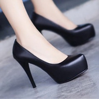 Hot-selling 2013 women's spring pu leather shoes fashion platform high-heeled shoes sexy shoes free shipping