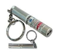 Cheap 2 in 1 Red Keychain Laser Pointer & White Flashlight  500pcs/lot Free Shipping