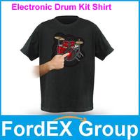 2013 Newest Style Fashionable Playable Electronic Drum Kit T Shirt