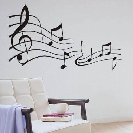 Cabinet de la musique magasin darticles promotionnels 0 for Decoration murale note de musique
