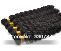 queen weave beauty unprocessed virgin hair extensions brazilian hair bundles water wave 4 pcs lot natural human hair weave