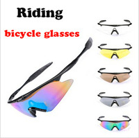 Wholesale Cycling glasses  driving glasses sports goggles, bicycle glasses summer sunglasses free shipping.