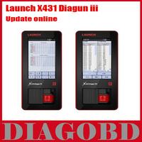 2013 Top-Rated Free Shipping Newest Auto Scan Tool 100% Original On-Line Update Launch X431 Diagun III,X-431 Diagun III Diagun