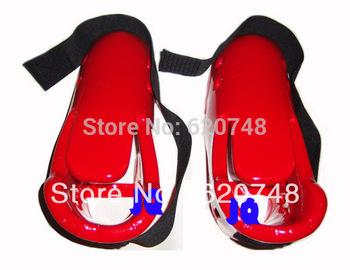 Профессиональный таэквондисты ITF тхэквондо ног сапоги, ткд ног загрузки, четыре размера ( S / M / L / XL ) и два цвета ( красный / синий ) для выбора