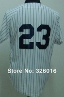 New York #23 Don Mattingly Jersey,Baseball Jersey,Top quality,Embroidery logos,Authentic Jersey,Size M--XXXL,Accept Mix Order