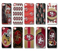 new SKIN design San Francisco 49ers NFL case hard back cover for iphone 4 4s bulk 10PCS/lot+free shipping