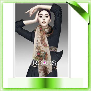 Free Shipping 2013 Hot Sale Soft 100% Cotton Autumn Scarf Brand Designer