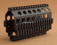 2014 Promotion Seconds Kill Aluminum Cnc Made M249 Ris Set (m249 Under Rail System) Mount Base Tactical Hunting Shooting M8189