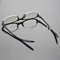 1x Black TR-90 Foldable Folding Reading Glasses Reader Eyeglass Men Case +2.00