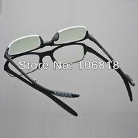 1x Black TR-90 Foldable Folding Reading Glasses Reader Eyeglass Men Case +2.00