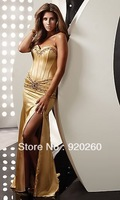Diffuse thin yarn fishtail gown bride wife toast dress evening dress costumes