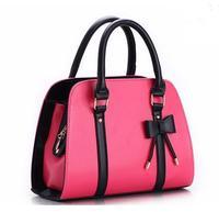 2013 candy color block handbag shaping one shoulder cross-body white women's handbag women's bags