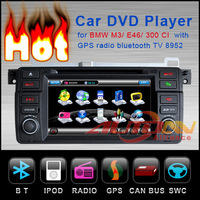 For BMW M3 1998-2005 In-dash Car DVD Player GPS Navigation Stereo With RDS Bluetooth TV 8952