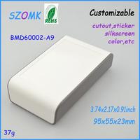 """10 pcs box plastic electronic enclosure  95x55x23mm  3.74""""x2.17""""x0.91"""" plastic design enclosures"""